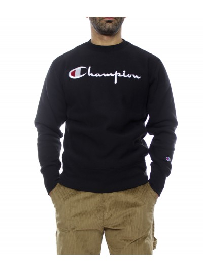 Champion - 215211 Felpa Black