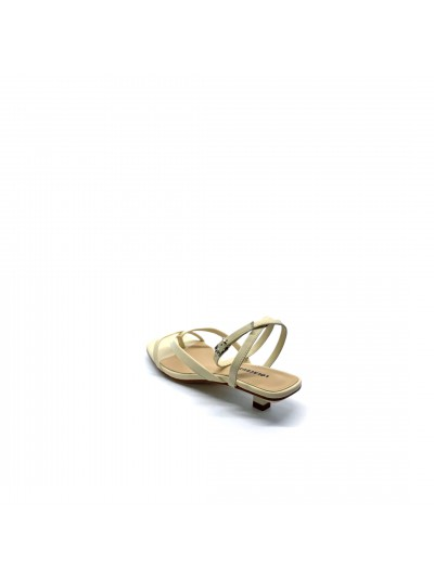 Lola cruz - 078Z14BK Sandalo Off white