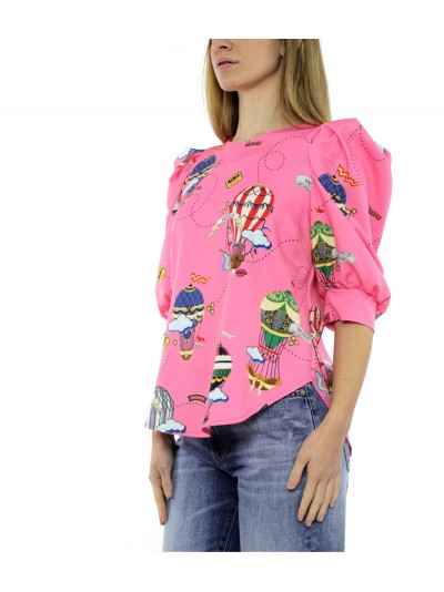 Vicolo - TH0207 Top Rosa