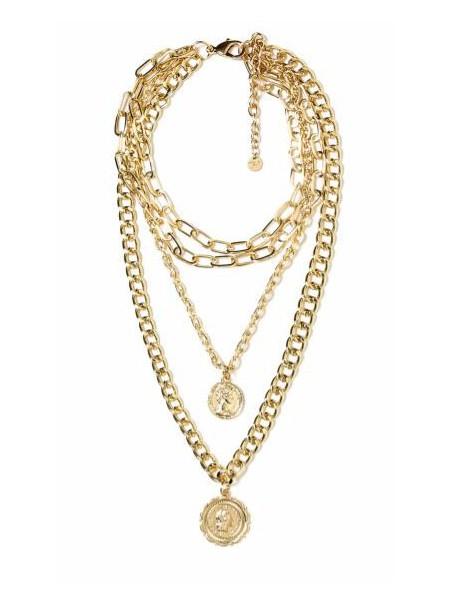Mya accessories - N11640 MONETE Collana Oro
