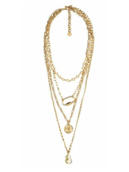 Mya accessories - N11650 PERLE Collana Oro