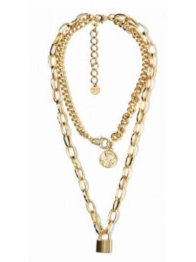 Mya accessories - N11660 LUCCHETTO Collana Oro