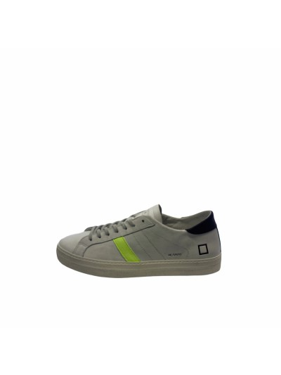 D.a.t.e. - M341-HL-VC-WY Sneakers White/yellow