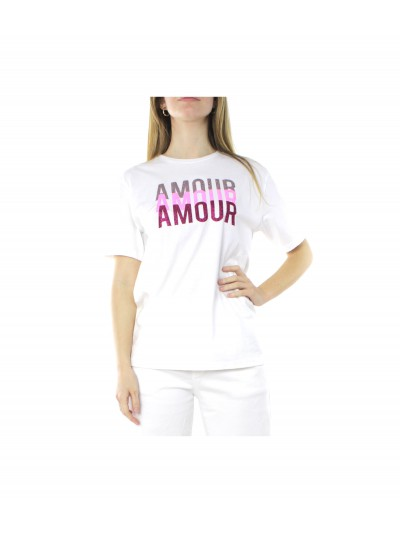 Shop art - 21ESH60878 T-shirt Bianco