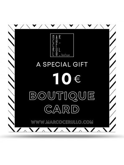 Boutique Card 10€