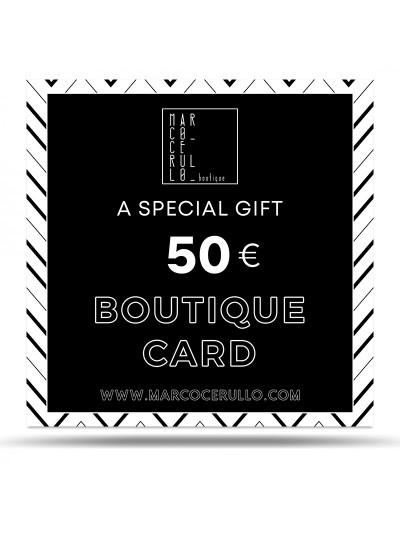 Boutique Card 50€