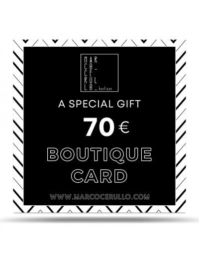 Boutique Card 70€