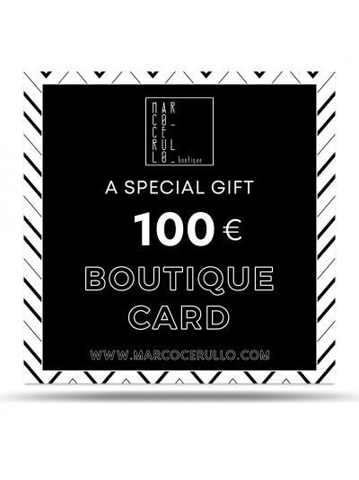 Boutique Card 100€