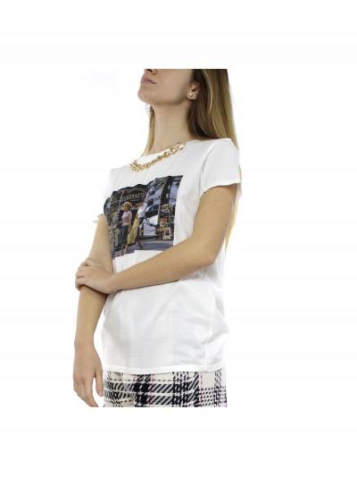 Vicolo - RH0243 T-shirt Panna