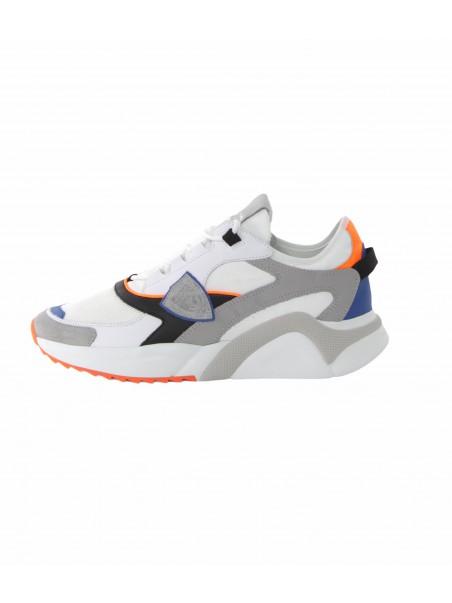 Philippe model - EZ LU WF03 Sneakers Bianco/arancio