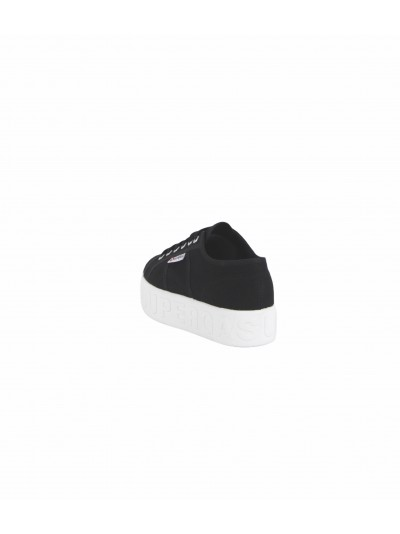 Superga - S71183W LETTERING Sneakers Black