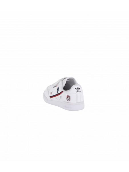 Adidas junior - FX6070 CONTINENTAL Sneakers junior White/navy/scarlet