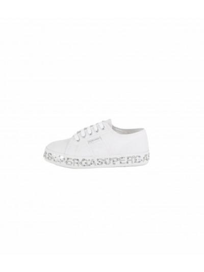 Superga junior - S81152W PLATFORM Sneakers junior White/silver/black