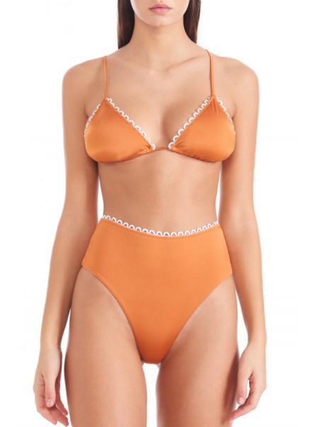Bikini lovers - LUNA TRIANGOLO Costume triangolo Arancio