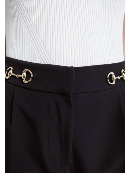 Vicolo - TX0152 Pantalone Nero